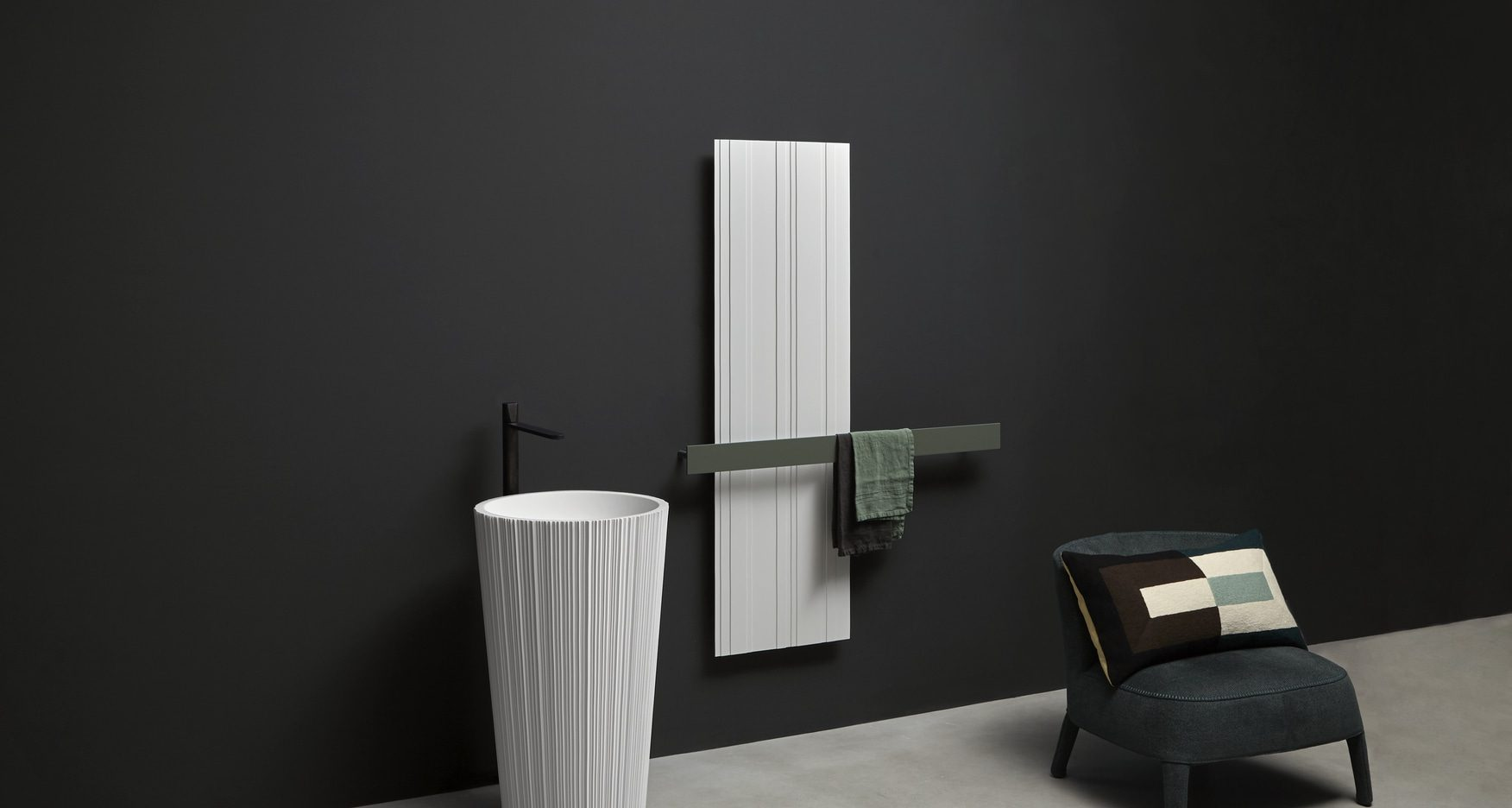 Designer radiator bitlight