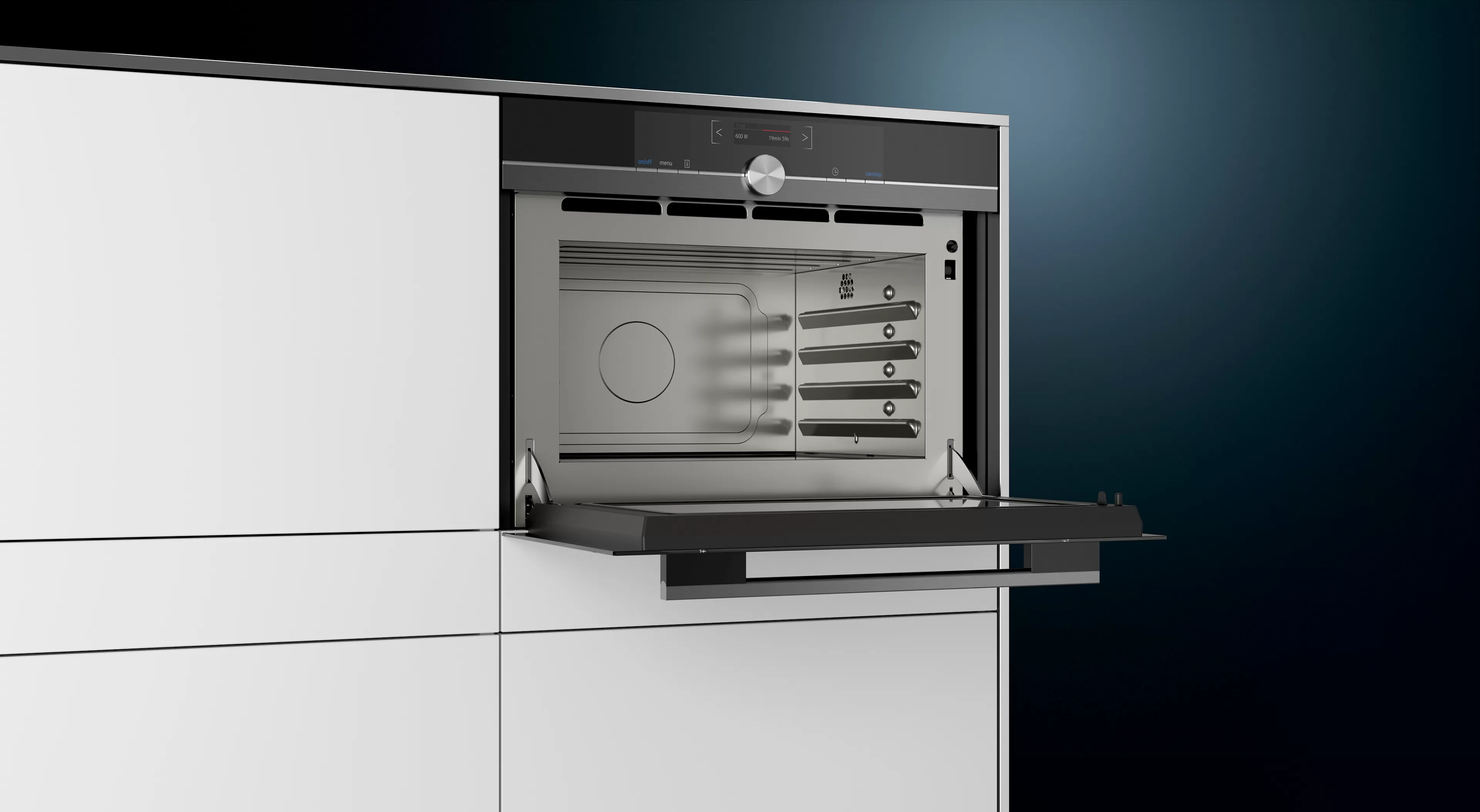 Siemens IQ700 Recessed Microwave