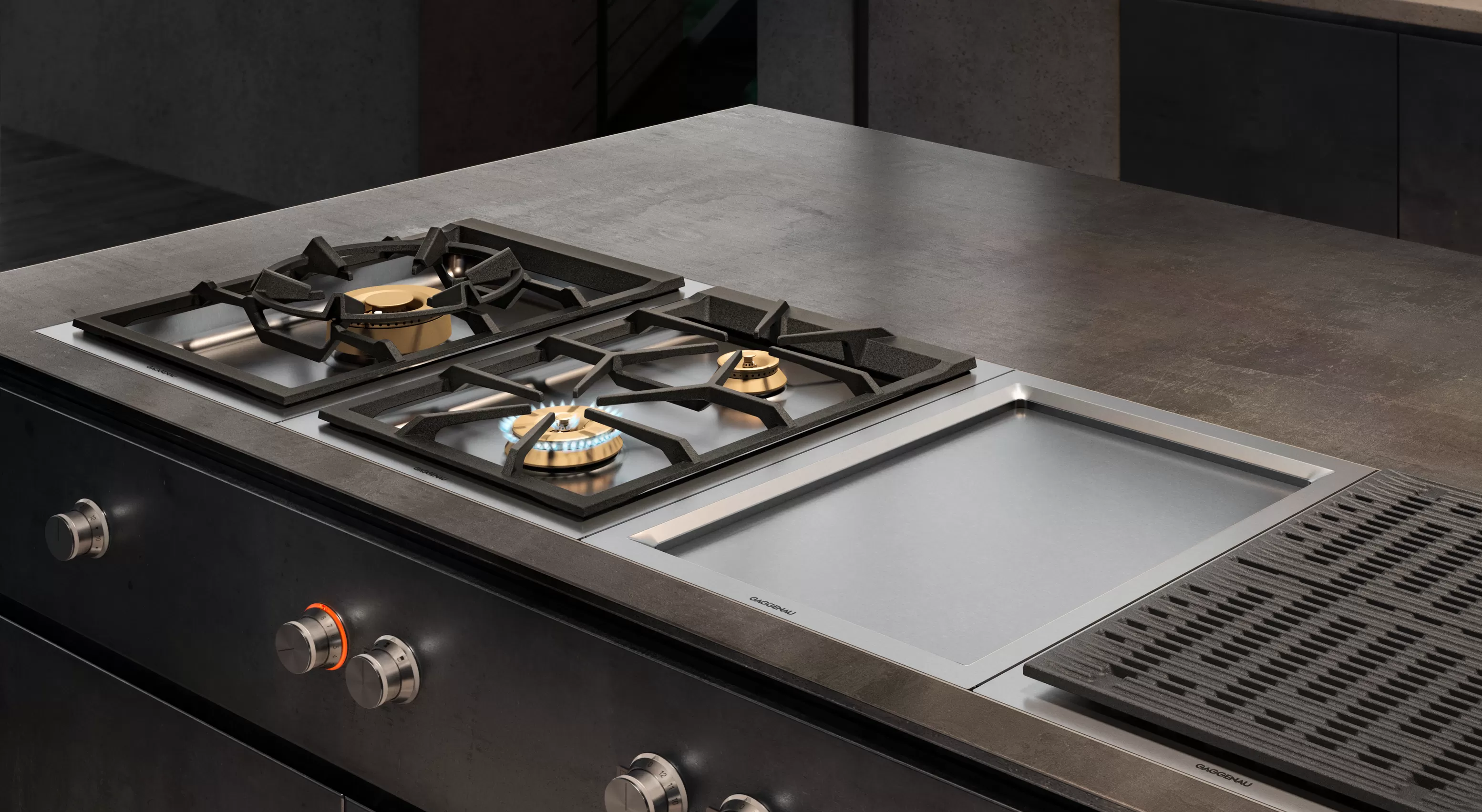 The Gas Cooktop 400 series