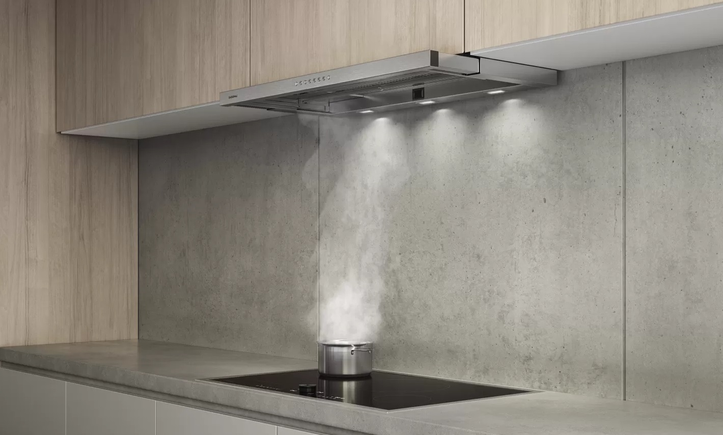 Flat kitchen hood 90 cm 200 series